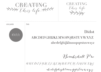 Creating-This-Life-Blog-Logo-Design-Style-Sheet