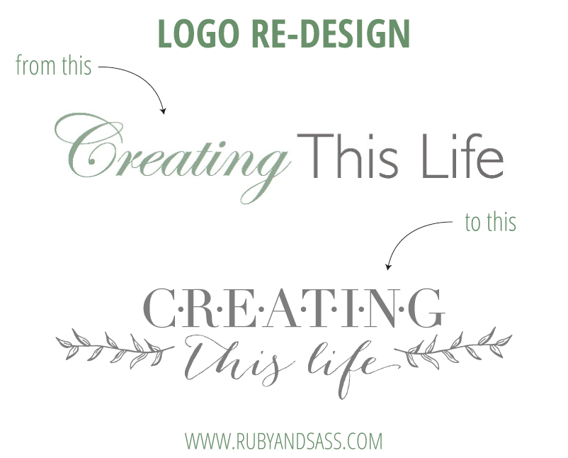 Logo design creating this life blog ruby and sass for Create blog logo