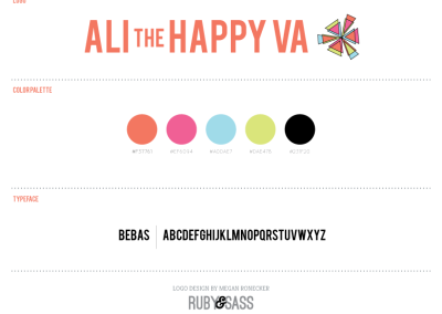 Ali-the-Happy-Virtual-Assistant-Logo-Design