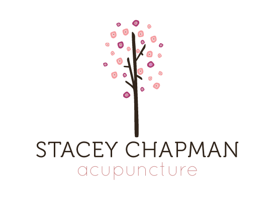 Stacey Chapman Acupuncture Logo Design