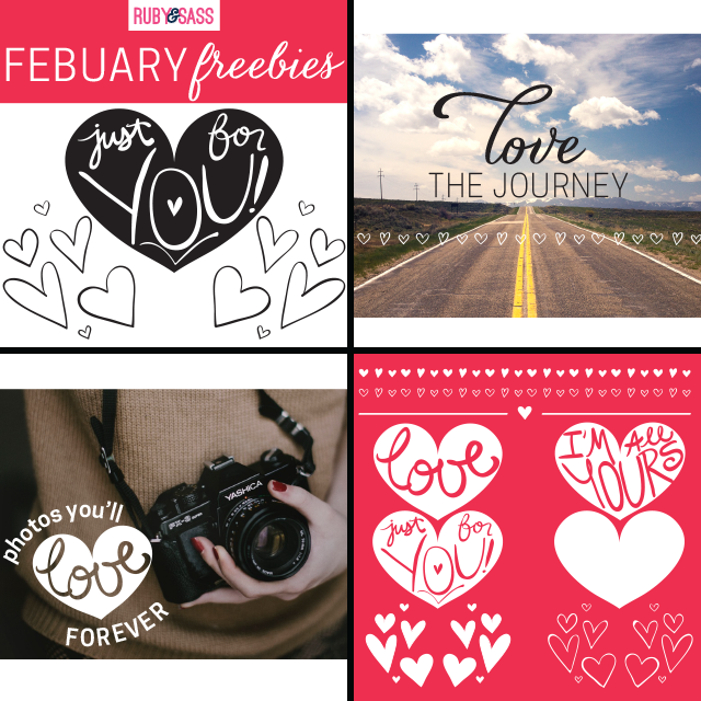 Photo Overlay Freebies - Hearts