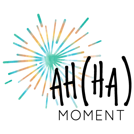 Ahha Moment Logo Design