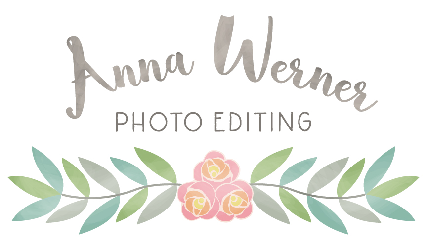 Anna Werner Photo Editing Logo