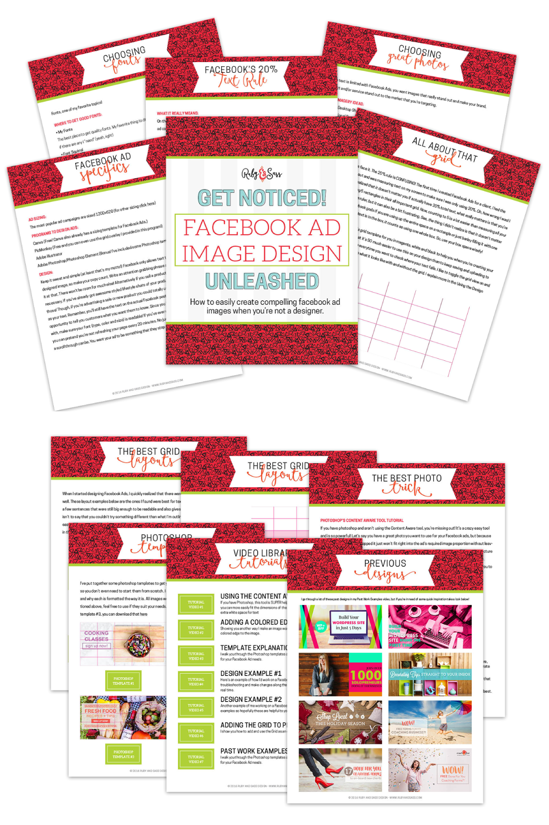 Facebood Ad Design Guide Ebook