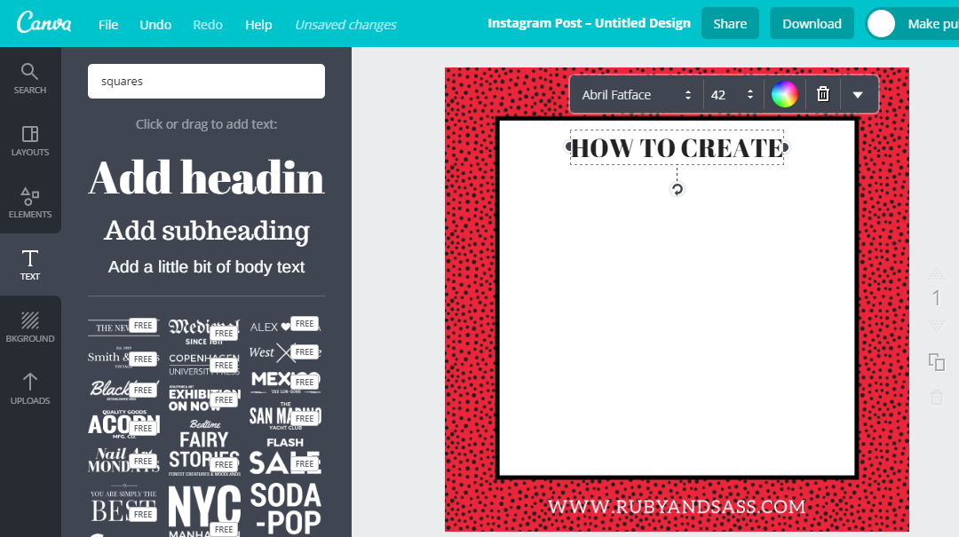 How to Create Blog Post Images in Canva