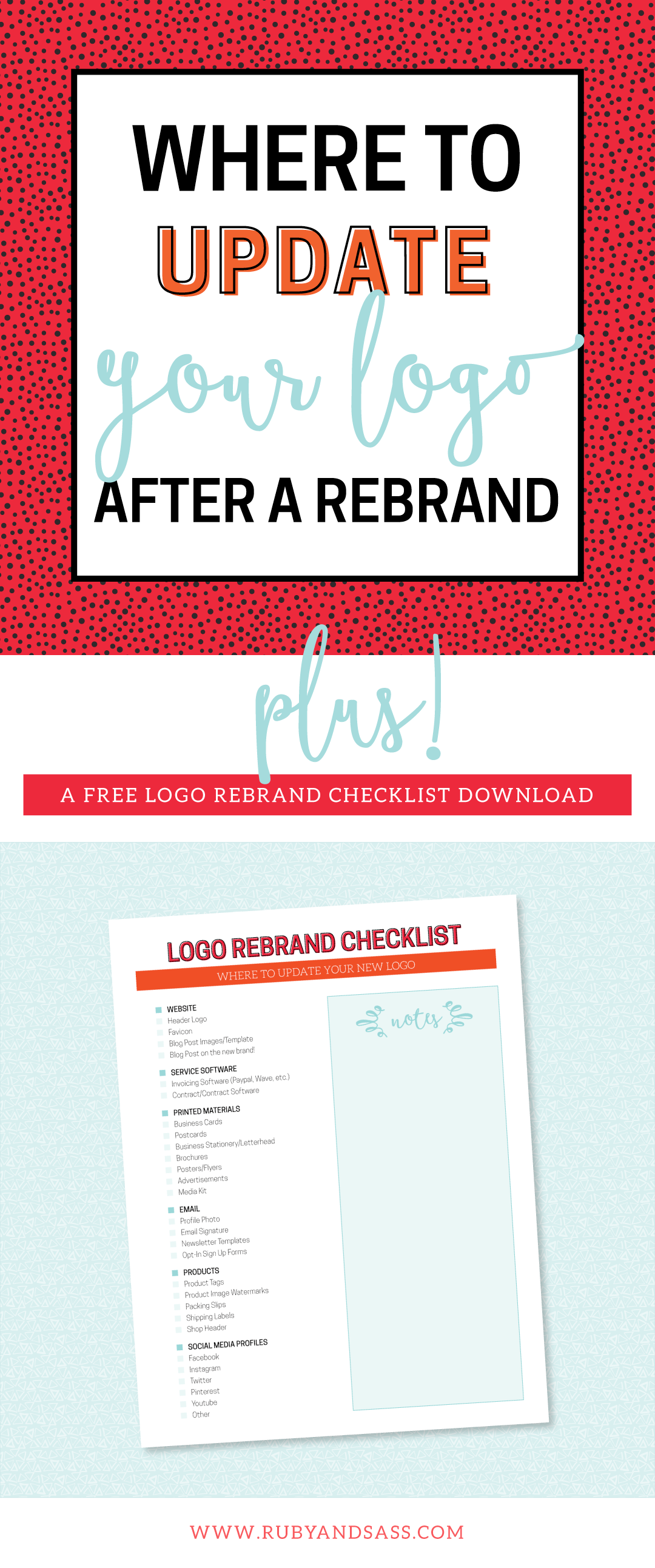 Where to Update Your Logo After a Rebrand